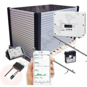 Kit Solar Autoconsumo SolarEdge SE4000-HD Wave Inyección cero