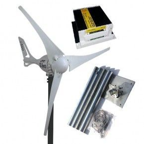Kit Aerogenerador i-500 + Mastil + Regulador 500W