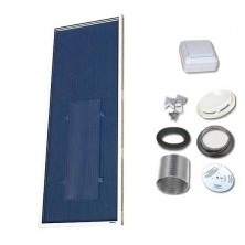 Solarventi SV14 Alu. Kit de montaje en pared y SWITCH incluido
