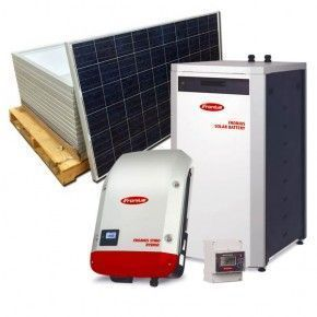 Kit Autoconsumo LITIO trifasico 4kW Fronius Energy Package 4,5kWh