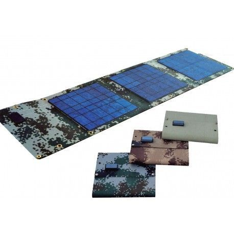 Panel solar plegable 20W salida 18V