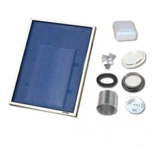 Solarventi SV3 Alu. Kit de montaje en pared y SWITCH incluido