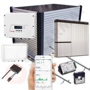 Kit Solar Autoconsumo SolarEdge SE4000-HD Wave + LG Chem RESU HV