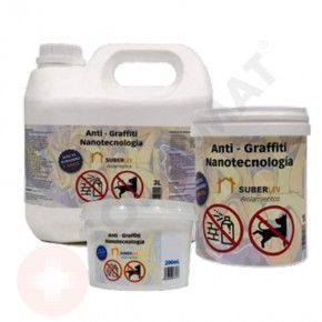 Tratamiento para superfícies Anti-graffiti nanotecnología 200 mL