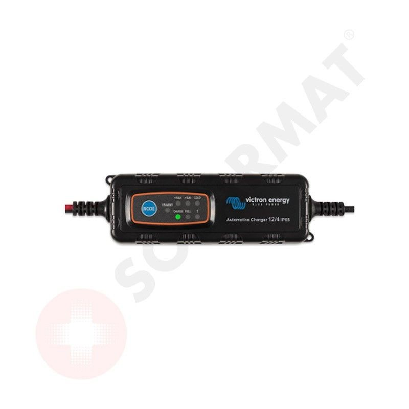 Cargador Automotive IP65 6V/12V 1,1A