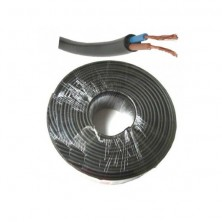 Rollo 100 metros manguera flexible RV-K 0,6/1kV negra 2x1,5mm2