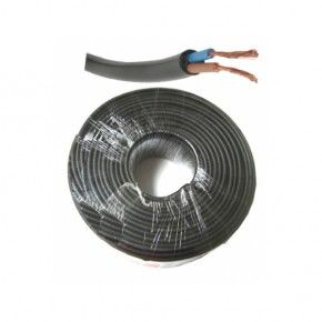Rollo 100 metros manguera flexible RV-K 0,6/1kV negra 2x2,5mm2