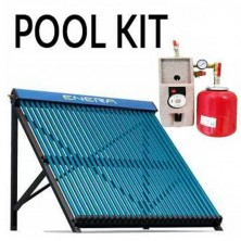 Kit solar calentamiento piscinas hasta 9 m2