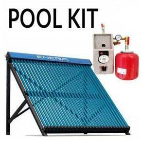 Kit solar calentamiento piscinas hasta 32 m2