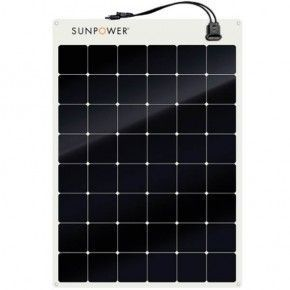 Panel solar semiflexible Sunpower 170W 24V