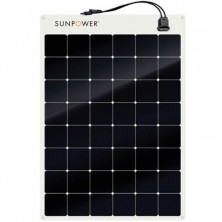 Panel solar semiflexible Sunpower 110W 12V