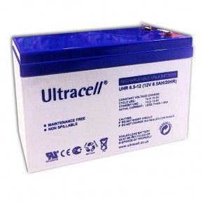 Batería AGM Ultracell 12V 6,5Ah Alta Descarga