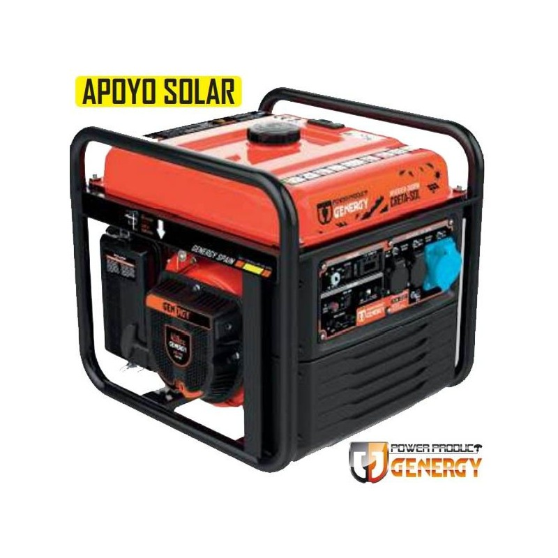 Generador digital inverter Open Creta SOL 8000W
