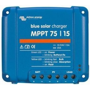 Regulador BlueSolar MPPT 75/15 (12/24V - 15A)