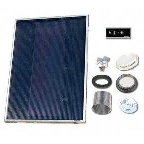 Solarventi SV7 Alu. Kit de montaje en pared y REGULADOR 1 incluido