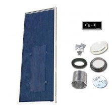 Solarventi SV14 Alu. Kit de montaje en pared y REGULADOR 1 incluido