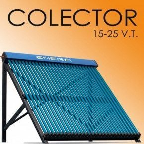 Colector Heat Pipe 20 tubos