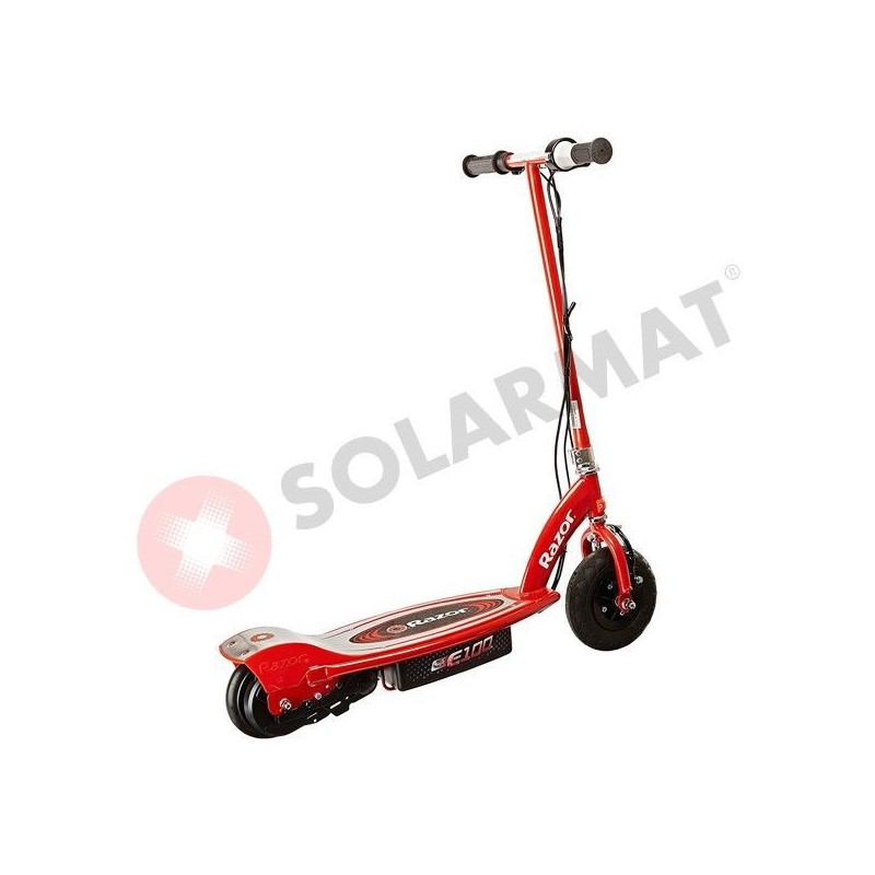 Patinete Eléctrico E100 Electric Scooter Red